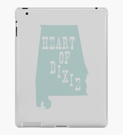 Alabama Slogan Motto iPad Case/Skin