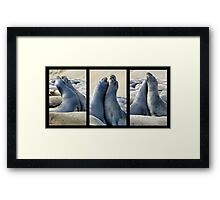 Did you hear about...? Framed Print