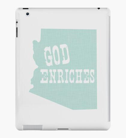 Arizona State Slogan iPad Case/Skin