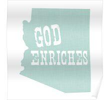 Arizona State Slogan Poster
