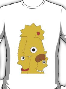 The Simpsons character mash T-Shirt