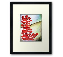PUZZLE PIECE BIOMORPHIC Framed Print