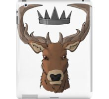 Crowned Stag iPad Case/Skin