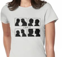 I Ship it V Womens Fitted T-Shirt