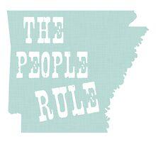 Arkansas State Motto Slogan by surgedesigns