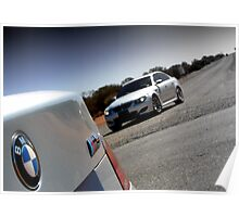 BMW M5 Poster