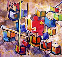PUZZLE PIECE MATCH by IRENE NOWICKI