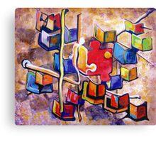PUZZLE PIECE MATCH Canvas Print