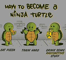 Become a Ninja Turtle by IdeasConPatatas