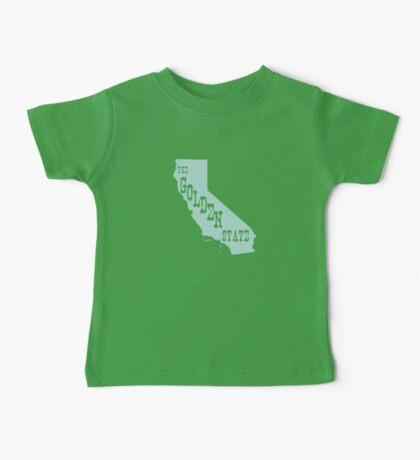California State Motto Slogan Baby Tee