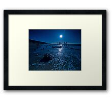 Summer Blues Framed Print