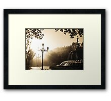 'Autumn Leaves on an Andalusian Afternoon' - Granada, Spain Framed Print