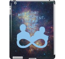 I Swear We Were Infinite III iPad Case/Skin