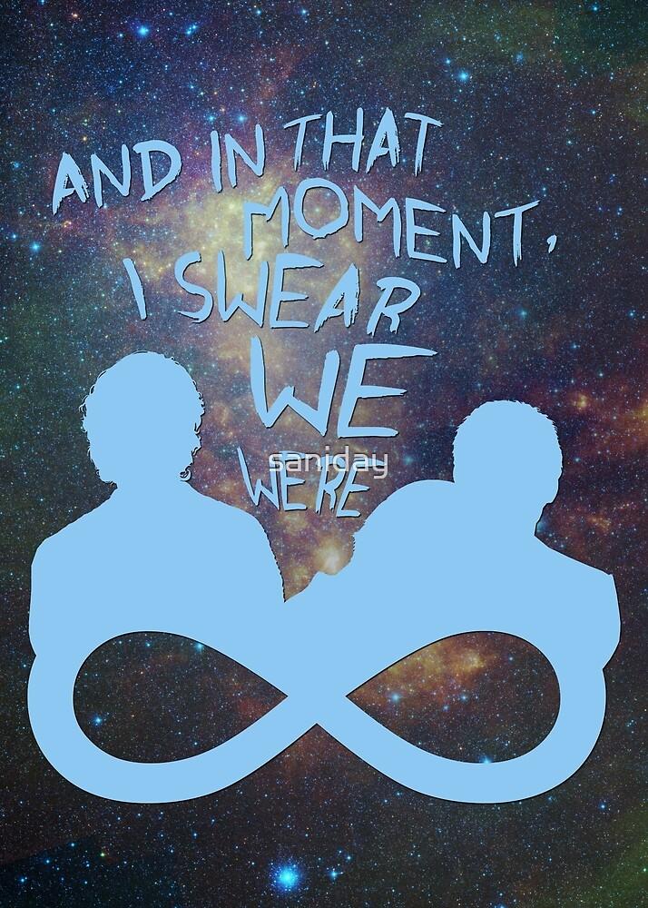 I Swear We Were Infinite III by saniday