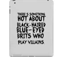 British Villains iPad Case/Skin