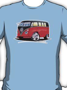 VW Splitty (11 Window) Camper (E) T-Shirt