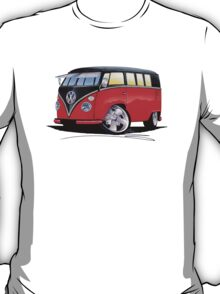 VW Splitty (11 Window) Camper (E) T-Shirt