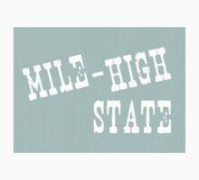 Colorado State Motto Slogan Kids Clothes