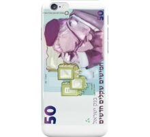 50 old shekel note bill iPhone Case/Skin
