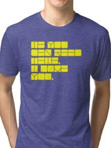 Colourful love. Tri-blend T-Shirt