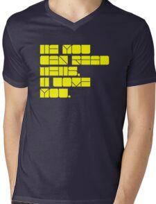 Colourful love. Mens V-Neck T-Shirt