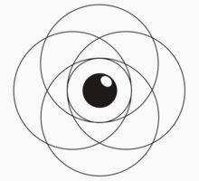 Erudite Eye - Black Baby Tee