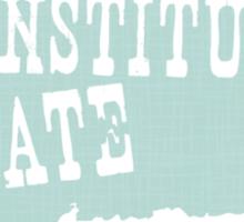 Connecticut State Motto Slogan Sticker