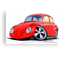 VW Beetle (Custom A) Metal Print