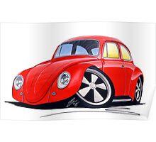 VW Beetle (Custom A) Poster