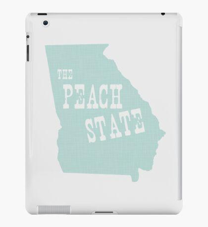 Georgia State Motto Slogan iPad Case/Skin