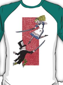 Alice vs. The Mad Hatter T-Shirt
