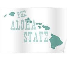 Hawaii State Motto Slogan Poster