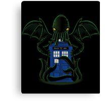 Dr.Who Beyond Time Canvas Print