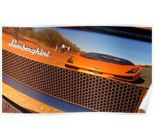 Lamborghini Reflection Poster