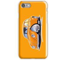 VW Beetle Orange iPhone Case/Skin