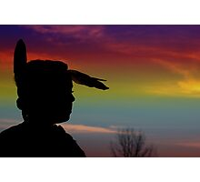 Native pride Photographic Print