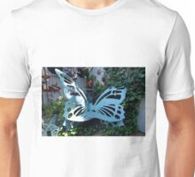 Cozy Butterfly Bench Unisex T-Shirt