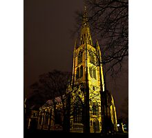 St Wulframs at Night Photographic Print