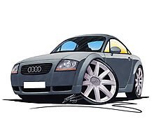 Audi TT Grey Photographic Print