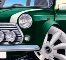Rover Mini Cooper Sport BRG Sticker