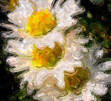 Impasto Daisy by HouseofSixCats