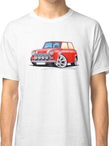 Rover Mini Cooper Sport Red Classic T-Shirt