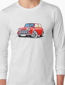 Rover Mini Cooper Sport Red Long Sleeve T-Shirt
