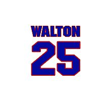 Hey, you must be a big fan of Walton, if not pls search for your favourite players jersey to wear it proudly.  Photographic Print