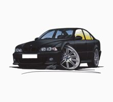 BMW M5 (E39) Black T-Shirt