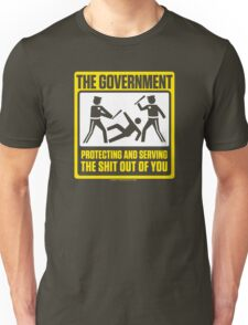 Protecting And Serving The Shit Out Of You T-Shirt