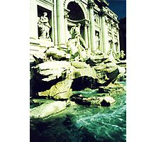 Trevi by night.. Photographic Print