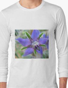 Beautiful blue flower T-Shirt