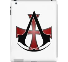 Assassins Creed Choose Your Allegiance White iPad Case/Skin