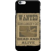 "Dead ""and"" Alive iPhone Case/Skin"